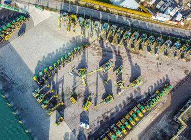 Baggerbetrieb Korz – Maschinenpark 2020