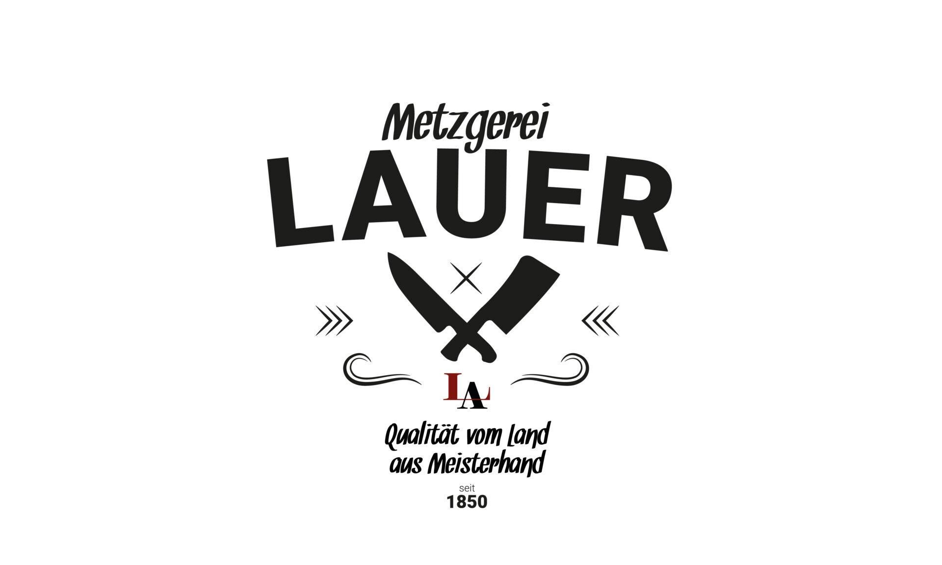 Logo Foodtruck Metzgerei Lauer